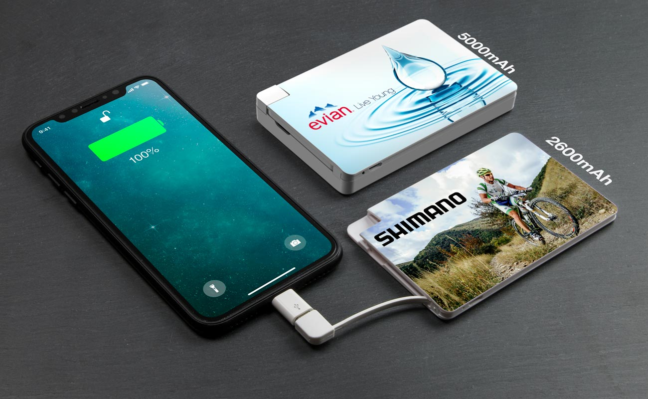 Card - Promotional Power Banks